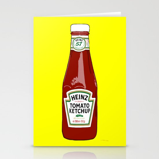 1 of 57 flavours Stationery Card