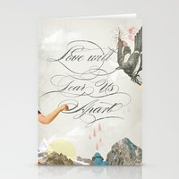 L.W.T.U.A (Love will tear us apart) Stationery Cards