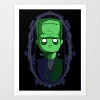 Hey Frankie! Art Print