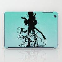 The Goblin King iPad Case