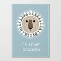 The Lion, the Witch and the Wardrobe Canvas Print