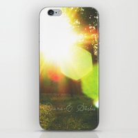 Orchid - Feel it in the air iPhone & iPod Skin