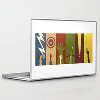 Laptop & iPad Skin featuring Assemble by The Art of Danny Haas