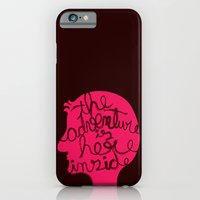 iPhone & iPod Case featuring The Adventure is Here Inside by Macrobioticos