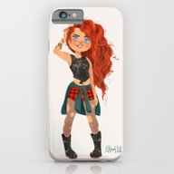 Modern AU: Merida iPhone 6 Slim Case