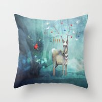Where will you go? Throw Pillow
