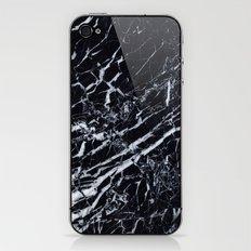 Real Marble Black iPhone & iPod Skin