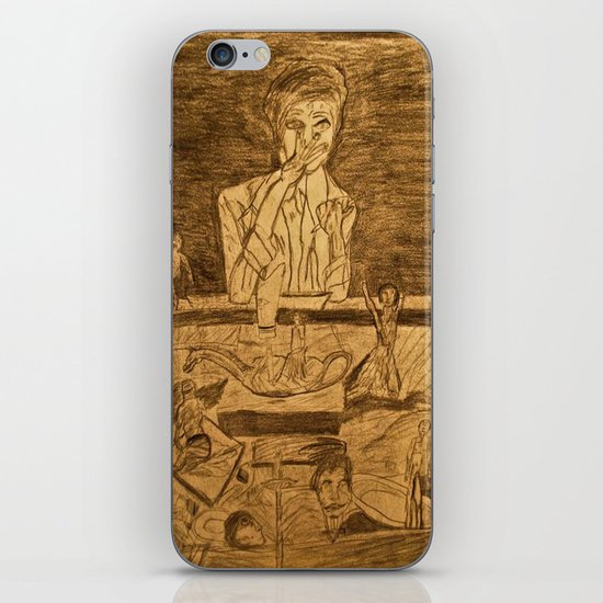 mind at work  iPhone & iPod Skin