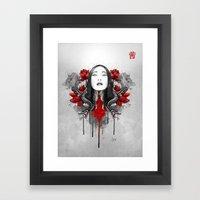 Akane Framed Art Print