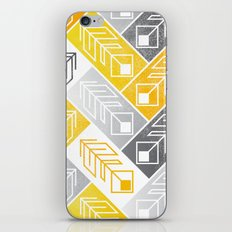 Bright Geometric Print iPhone & iPod Skin