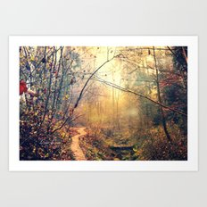 from another time Art Print