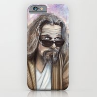 iPhone & iPod Case featuring The Dude by James Kruse