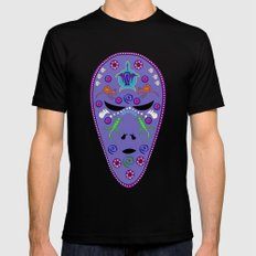 Dream time Alien Black SMALL Mens Fitted Tee