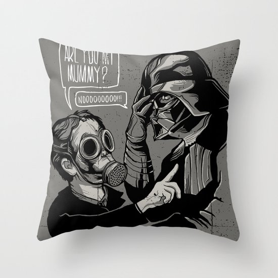 Are you my Mummy? Throw Pillow