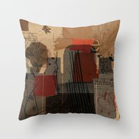 unfolded 21 Throw Pillow