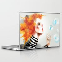 pin up Laptop & iPad Skins featuring Pin by Dnzsea