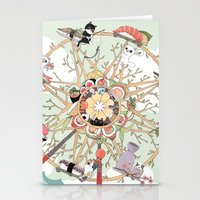 The Sushi Wheel Stationery Cards