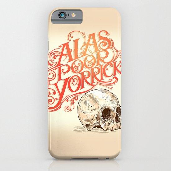 Hamlet Skull iPhone & iPod Case