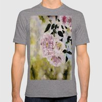 Rosy Days Mens Fitted Tee Tri-Grey SMALL