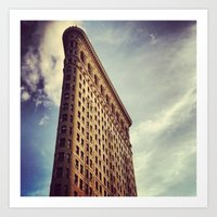 Flatiron Building, NYC Art Print