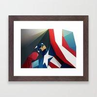 Front Man Framed Art Print