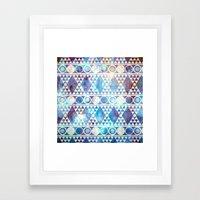 Tribal Storm Framed Art Print