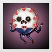Peppermint Butler :: The… Canvas Print
