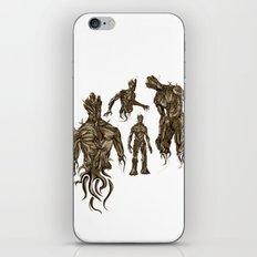 I AM [badass] GROOT iPhone & iPod Skin