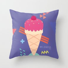 Ice Cream II Throw Pillow