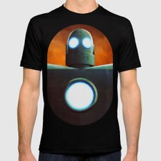 Stobot Mens Fitted Tee Black SMALL
