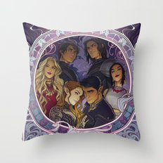 The Inner Circle Throw Pillow