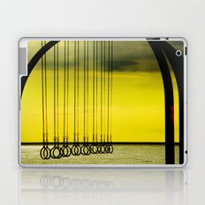 Beach Rings Laptop & iPad Skin