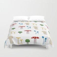 Mushroom Pattern  Duvet Cover