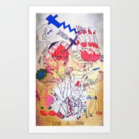 sarah tonin Art Print