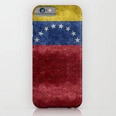 The national flag of the Bolivarian Republic of Venezuela -  Vintage version Slim Case iPhone 6s
