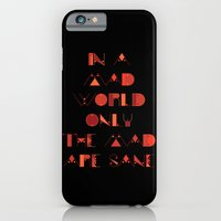 In A Mad World iPhone 6 Slim Case