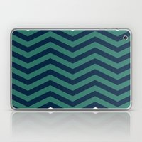3D In Ocean Tones Laptop & iPad Skin