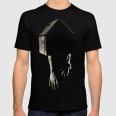 echando raíces Mens Fitted Tee SMALL Black