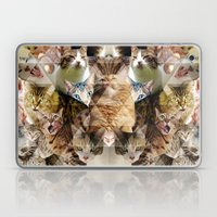 Cat Kaleidoscope Laptop & iPad Skin