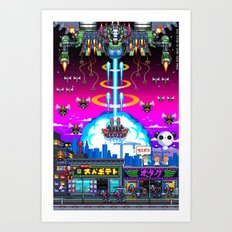 FINAL BOSS - Variant version Art Print