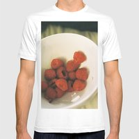 berry perfect Mens Fitted Tee White SMALL