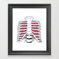 internal Framed Art Print