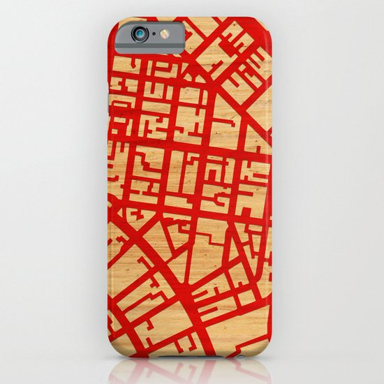 Map of the Town iPhone & iPod Case