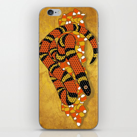 Mexican Candy Corn Snake iPhone & iPod Skin