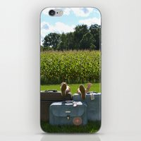 Luggage iPhone & iPod Skin