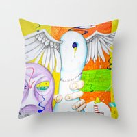 Realm III Throw Pillow