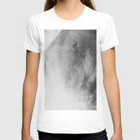 Crystal Womens Fitted Tee White SMALL