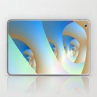 Blue Labyrinth Laptop & iPad Skin