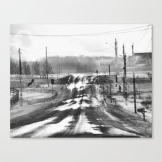 One Road Home, Canandaigua Canvas Print