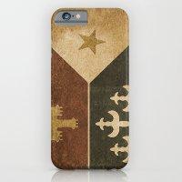 Acadian Flag iPhone 6 Slim Case